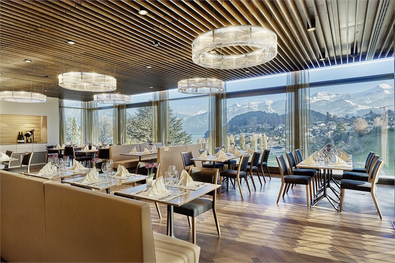 Eden Spiez - Restaurant - Seminarhotels Schweiz - MICE Service Group